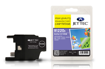Jet Tec B1220B Remanufactured Brother LC1220 Black ink cartridges